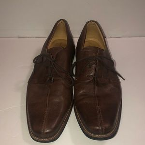 Sandro Moscolini brown dress shoes loafers